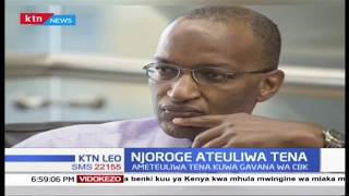 Rais Kenyatta amteua tena Patrick Njoroge kam Gavana wa CBK kwa muhula wa miaka minne