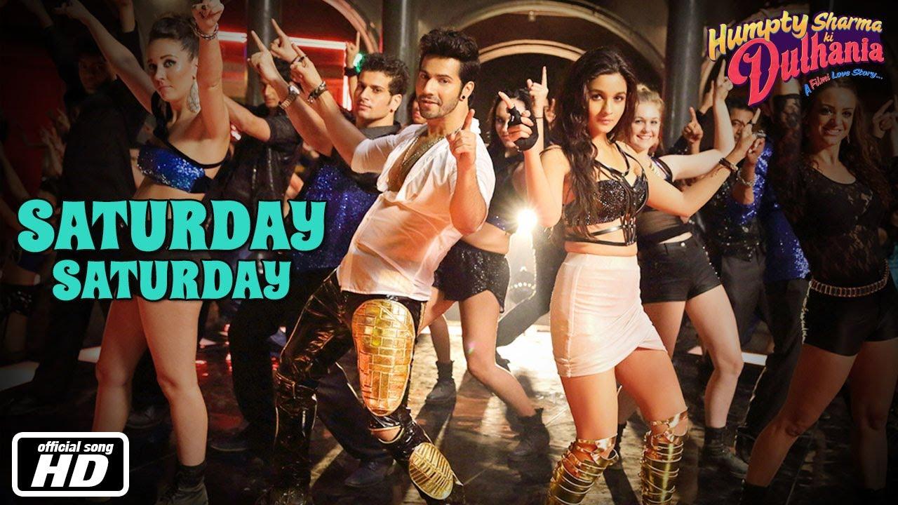 Saturday Saturday Lyrics in Hindi - Humpty Sharma Ki Dulhania - Indeep Bakshi, Badshah, Akriti Kakkar