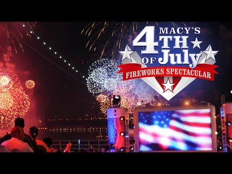 2018 Macy's 4th of July Fireworks Spectacular (NBC) Full Show