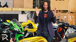 This Is How Keanu Reeves Spends His Millions