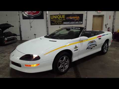 1997 Chevrolet Camaro Z28 Convertible Brickyard Pace Car for Sale - CC-1020047