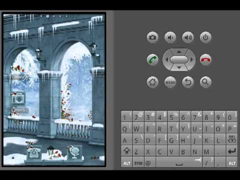 Video of ADWTheme  Winter Pavane