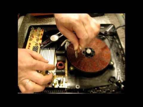 РЕМОНТ ИНДУКЦИОННОЙ ПЛИТЫ, 90% всех поломок\ Repair induction cooker 90% of all breakdowns