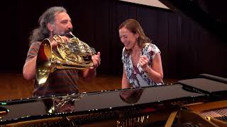 Stefano Bollani takes the Sarah´s Music Horn Challenge