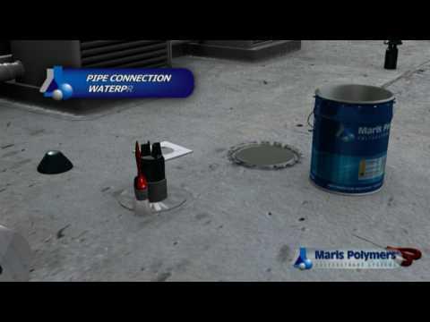Maris Polymers Mariseal 250 Polyurethane Waterproofing Membrane