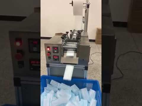 Semi Automatic Face Mask Making Machine