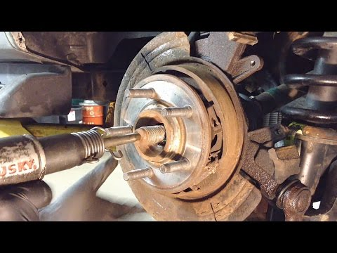 2002-2005 Ford Explorer Rear Wheel Bearing Replacement