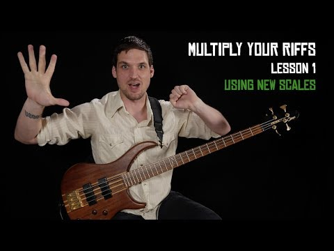 Using New Scales - Multiply Your Riffs (1/6)