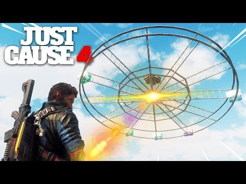 Just Cause 4 - UFO SPOTTED IN SOLIS!