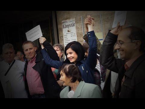 Demonstráció a Csepeli Munkásotthon fideszes lenyúlása ellen