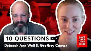 10 Questions With Deborah Ann Woll And Geoffrey Cantor