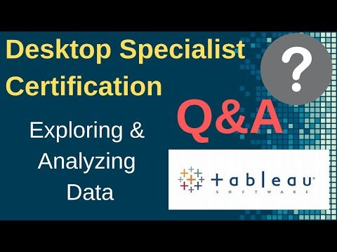 Tableau Certification Questions and Answers: Exploring Data ...