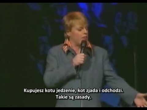 Eddie Izzard - Psy i koty (polskie napisy)