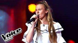 """Wiktoria Tracz – """"Rock&Rollin' Love"""" – Przesłuchania w ciemno – The Voice Kids Poland"""