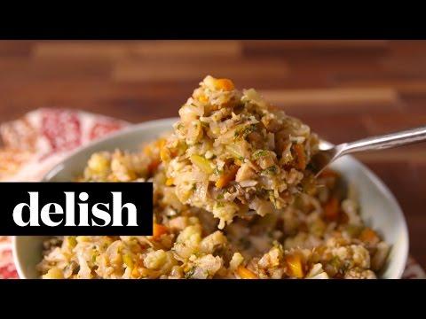 Cauliflower Makes A Great Gluten-Free Stuffing