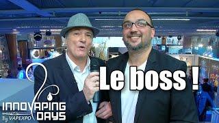 Patrick Bédué : Adieux Innovaping Days, bonjour Vapexpo Région !