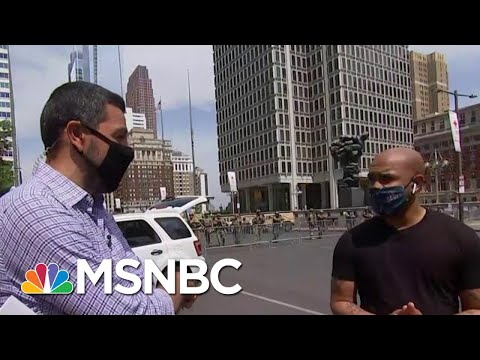 Philly Pastor On Controversial Statue Removal: 'Enough Was Enough' | Hallie Jackson | MSNBC
