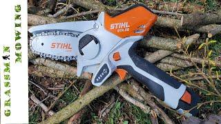 Stihl GTA 26 Review  - Mini Chainsaw