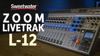 Zoom LiveTrak L-12 Digital Mixer and Multitrack Recorder Review