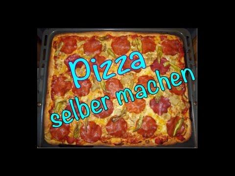 Pizza selber machen / Pizzarezept / best Pizza
