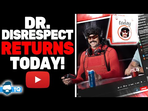 Dr. Disrespect RETURNS To Streaming! (He's Doing Just Fine)