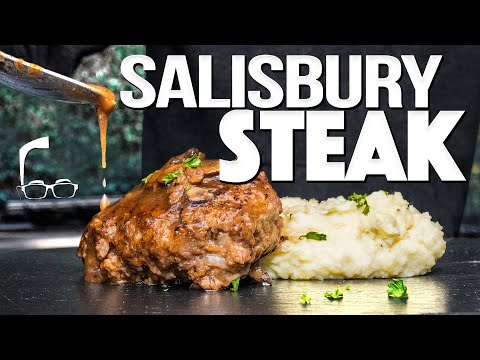 THE BEST SALISBURY STEAK (TRUST ME…IT'S NOT WHAT YOU THINK!) | SAM THE COOKING GUY