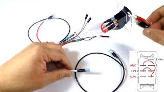 Navigation and Anchor Light Rocker Switch Wiring Guide