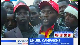 President Uhuru Kenyatta begins official campaigns ahead of the October elections