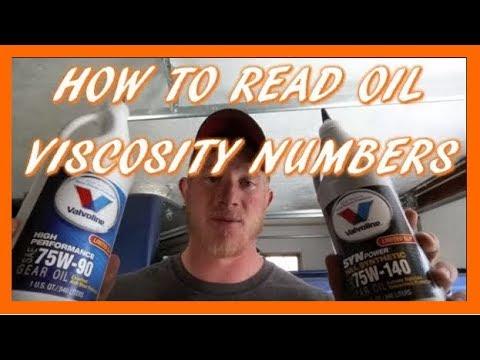 75w-140 vs. 75w-90 Gear Oil | How To Read Gear Oil Viscosity Numbers