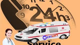 Under Low Budget Medilift Ambulance Service in Kankarbagh