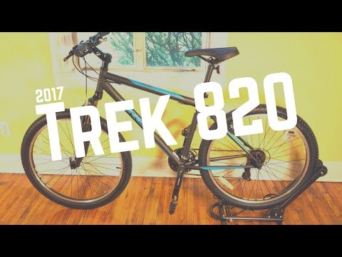 2017 Trek 820 Mountain Bicycle – Feature overview