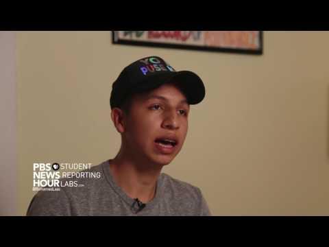 Jordy Balderas says his family came to America to escape violence