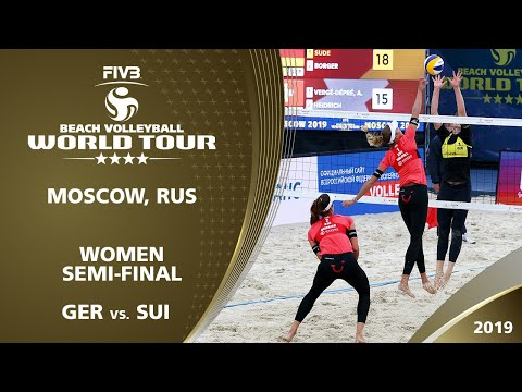LIVE 🔴 - Women's Semi-Final 1 | 4* Moscow (RUS) - 2019 FIVB Beach Volleyball World Tour