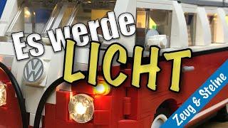 Beleuchtung für LEGO® VW T1 Camper Van