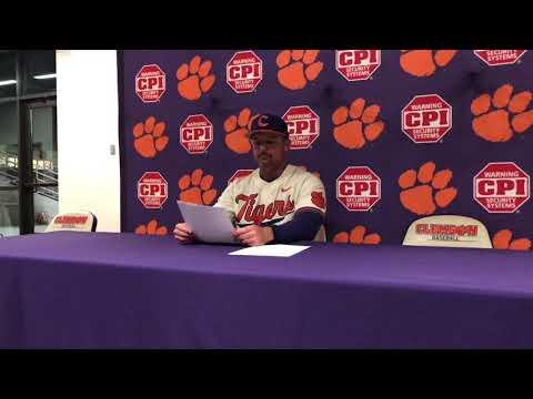Clemson Baseball || Lee, Wilkie, Marr, Hall - 4/25/18