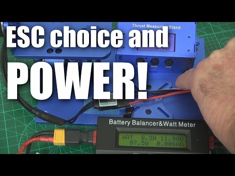 does-esc-choice-affect-motor-power