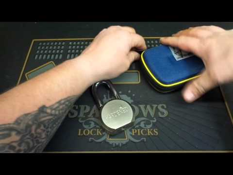 "*6* Heavy Duty ""Guard Security"" Padlock Picked & Gutted"