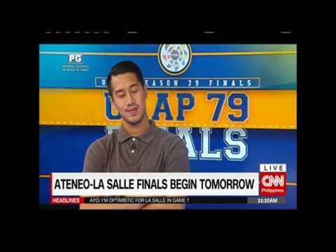 Ateneo-La Salle finals begin tomorrow