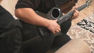 Enya X4 Carbon Fiber AcousticPlus Guitar Finger-style Demo