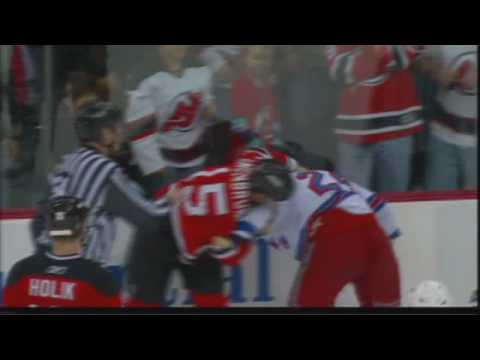 Jamie Langenbrunner vs. Ryan Callahan