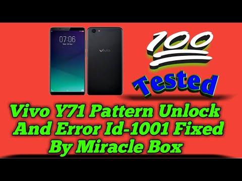 Vivo Y71 (1724) Frp Lock Remove Miracle Box - смотреть онлайн на Hah