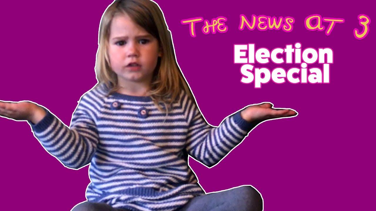 Βρετανία: Η 3χρονη… πολιτική αναλύτρια που αποδομεί τους υποψηφίους
