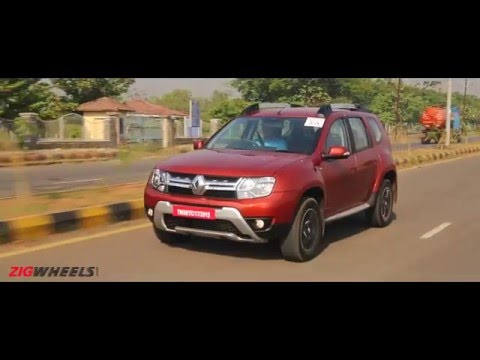 2016 Renault Duster :: Diesel Automatic :: Video Review : ZigWheels India