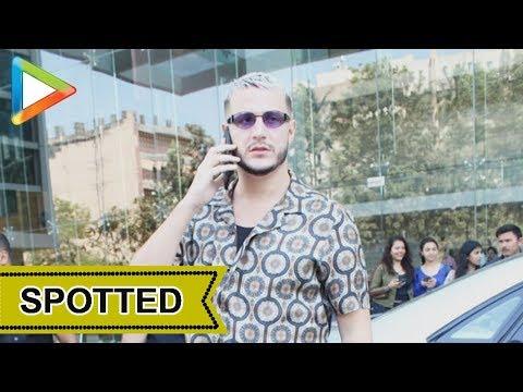 DJ Snake Spotted at Karan Johar's Dharma Production Office, Mumbai