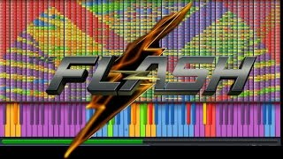 """Video thumbnail of """"IMPOSSIBLE REMIX - The Flash Theme - Piano Cover"""""""