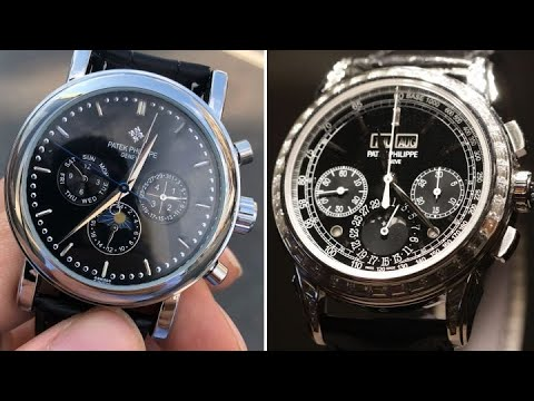 Comparing a $260,000 Patek Philippe watch with a $60 Chinatown knock-off | First Class