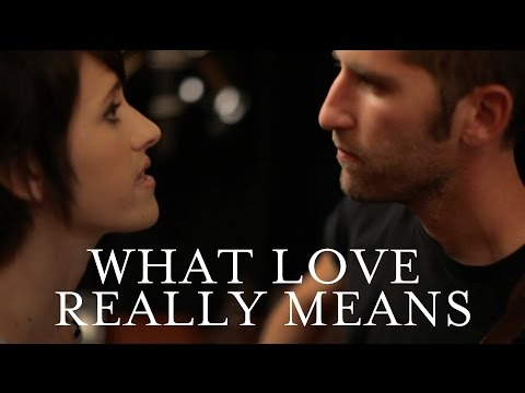 JJ Heller - What Love Really Means (Official Music Video)