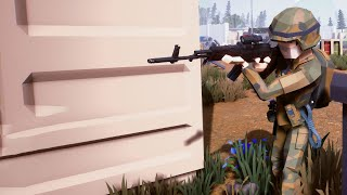 This NEW FREE GAME Is AWESOME! Introducing The LOW-POLY TACTICAL SHOOTER... Polygon, On Steam!