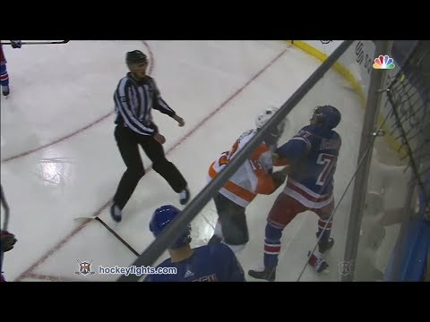 Anthony DeAngelo vs. Wayne Simmonds