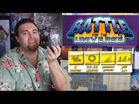 Battle for the Universe - Second Edition - Kickstarter Board Game Review